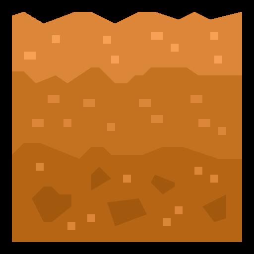 suelo  icono gratis