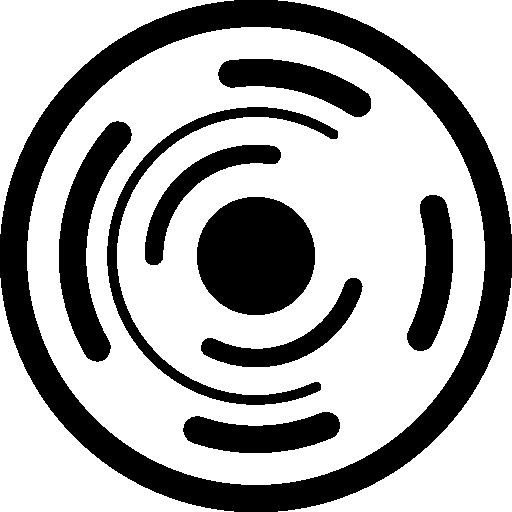 cercle de circuit électronique  Icône gratuit
