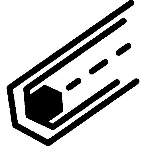 circuit électronique avec un hexagone  Icône gratuit