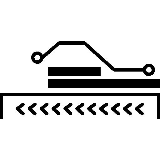 partie de circuit électronique  Icône gratuit
