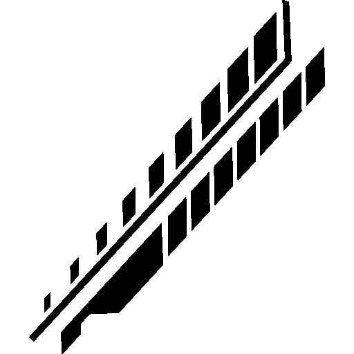 lignes de circuits électroniques diagonales et losanges  Icône gratuit