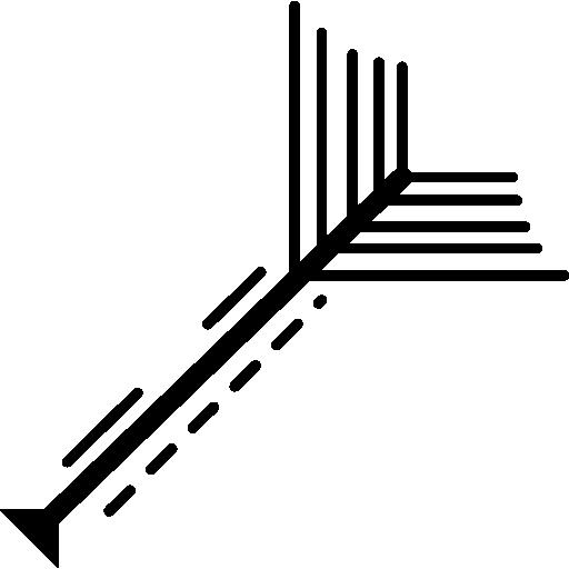 conception de circuits électroniques de lignes droites  Icône gratuit