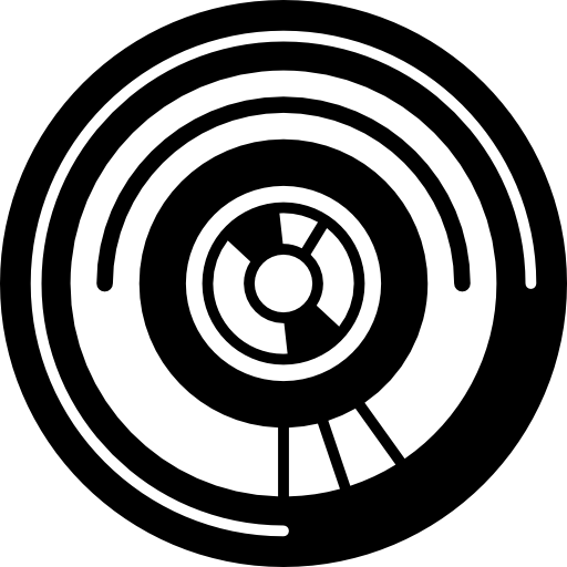 conception de circuits électroniques circulaires  Icône gratuit