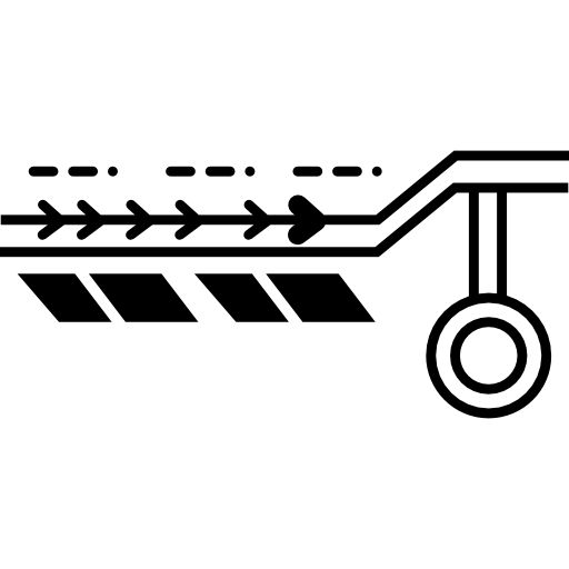impression de circuits électroniques  Icône gratuit