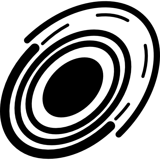 circuit électronique ovale  Icône gratuit