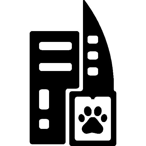 hôtel pour animal de compagnie  Icône gratuit