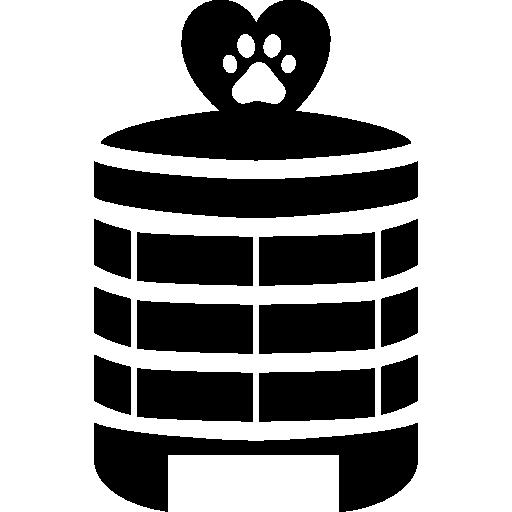 Здание гостиницы домашних животных  бесплатно иконка