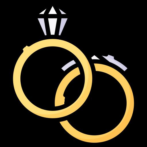 Wedding rings  free icon