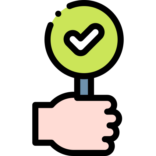 Tick  free icon