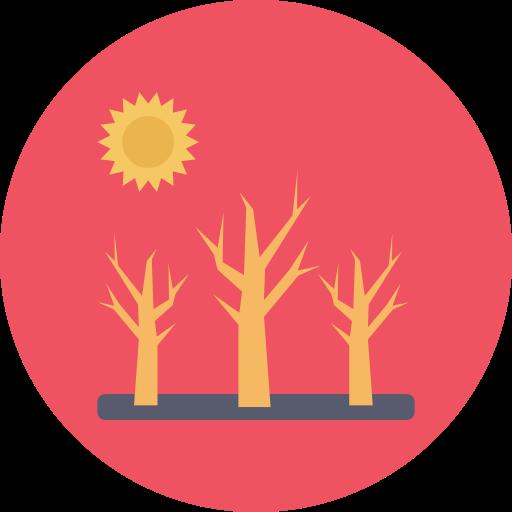 사막화  무료 아이콘