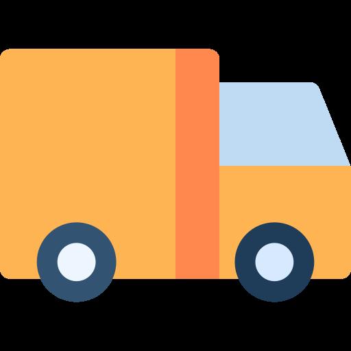 un camion  Icône gratuit
