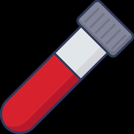tubo de sangre  icono gratis