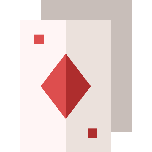 cartas de póquer  icono gratis