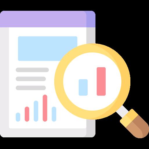 Data analysis  free icon