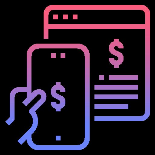 Онлайн платеж  бесплатно иконка