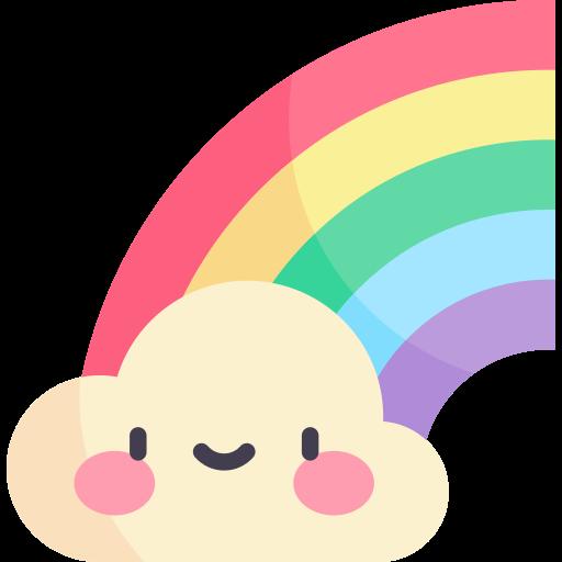arco iris  icono gratis