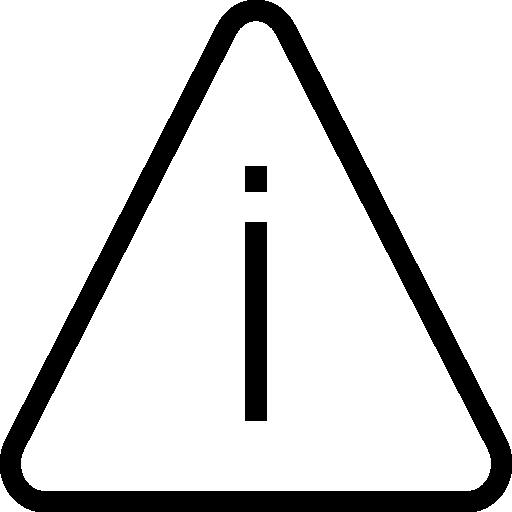 Предупреждение  бесплатно иконка