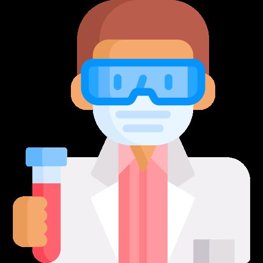 técnico de laboratorio  icono gratis