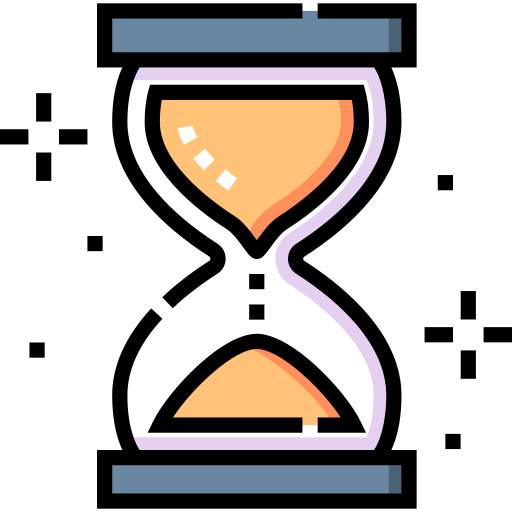 Hourglass  free icon