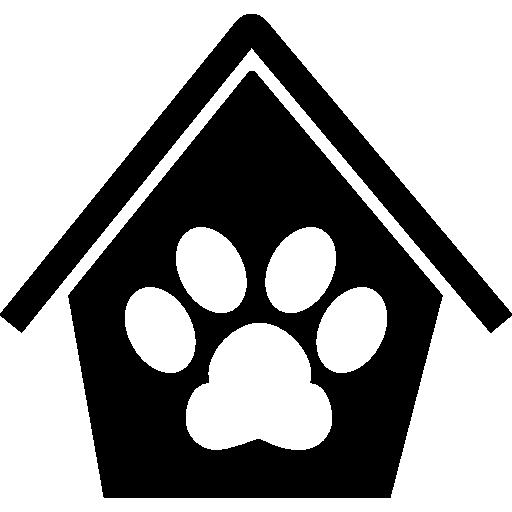 След собаки в доме  бесплатно иконка