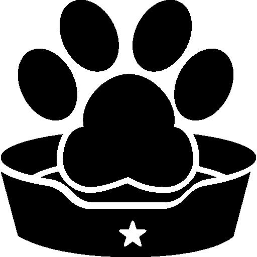 signe de l'hôtel pour animaux de compagnie  Icône gratuit