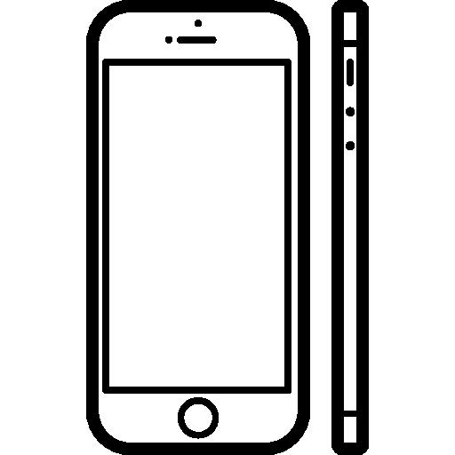 modèle populaire de téléphone mobile apple iphone 5s  Icône gratuit