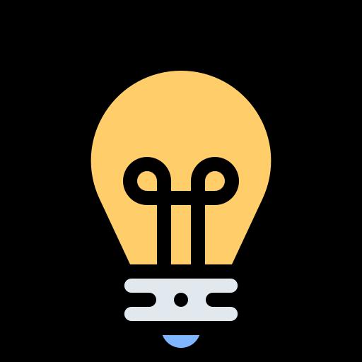 Light bulb  free icon