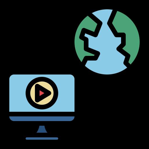educación en línea  icono gratis