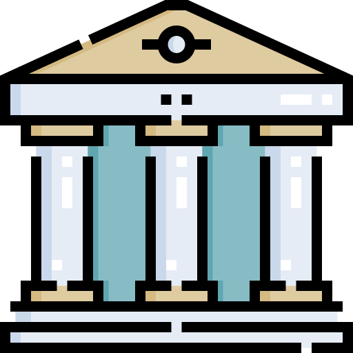 Government building  free icon