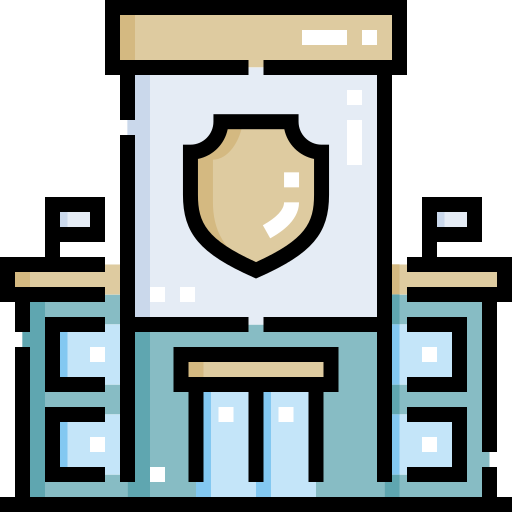 Police station  free icon