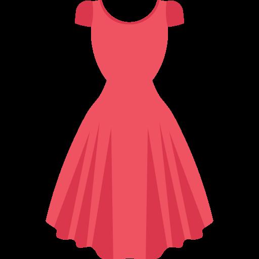 Woman clothes  free icon
