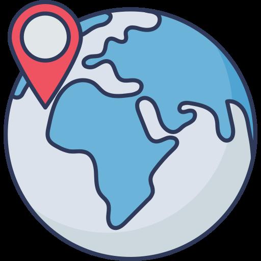 pin de mapa  icono gratis