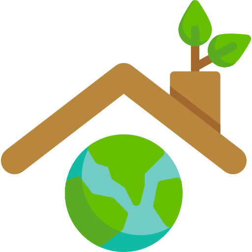 Roof  free icon