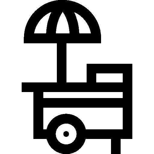 포장 마차  무료 아이콘