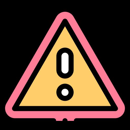 Caution  free icon