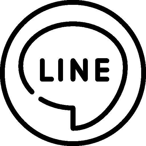 ligne  Icône gratuit