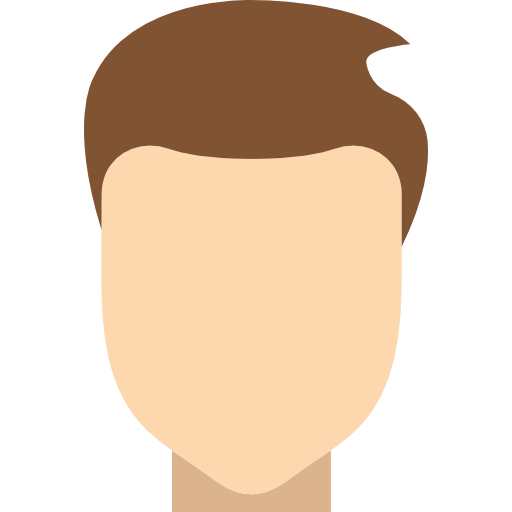 Man hair  free icon