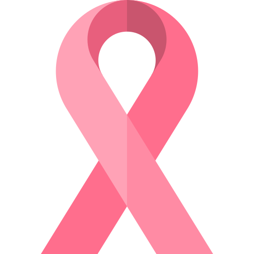 Pink ribbon  free icon