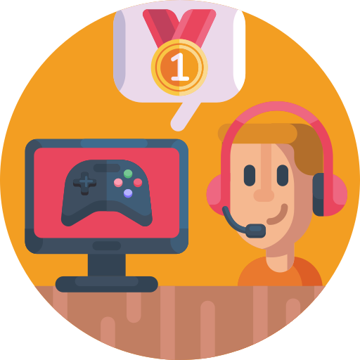 comentarista de jogos  grátis ícone