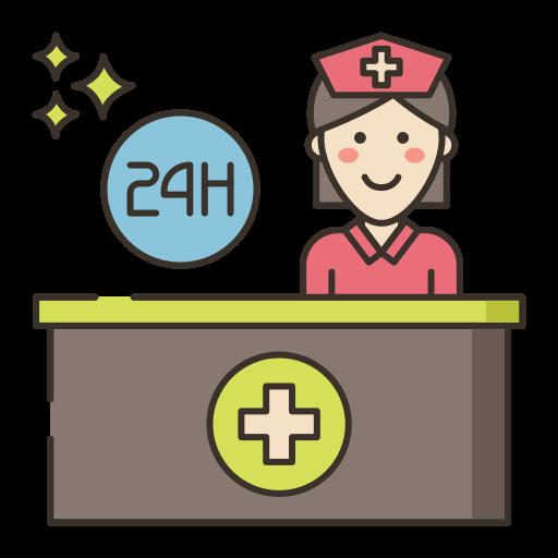 recepcionista  icono gratis