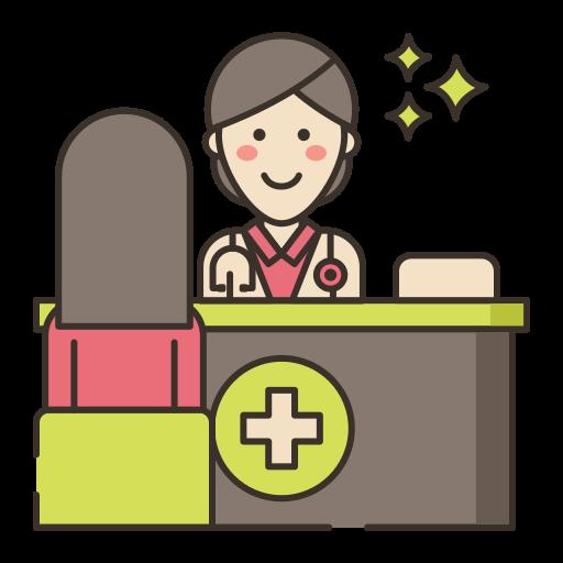 doctor en medicina  icono gratis
