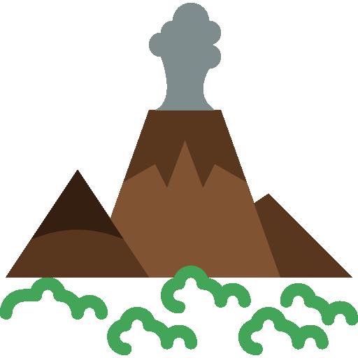 화산  무료 아이콘