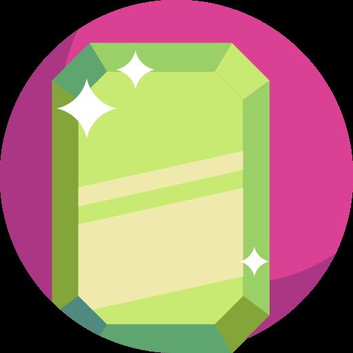 smaragd  kostenlos Icon