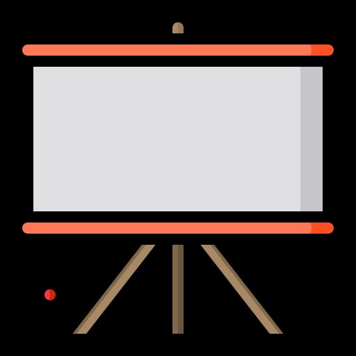 tableau blanc  Icône gratuit