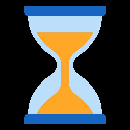 relógio de areia  grátis ícone