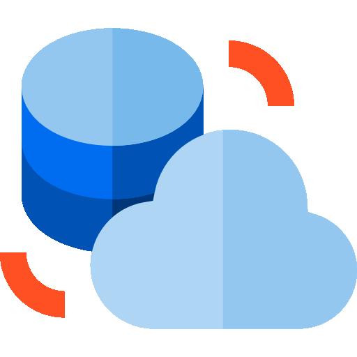 Data storage  free icon
