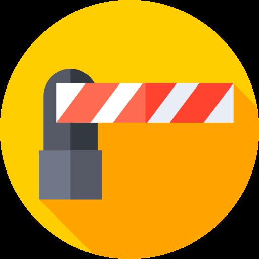 Открытый барьер  бесплатно иконка