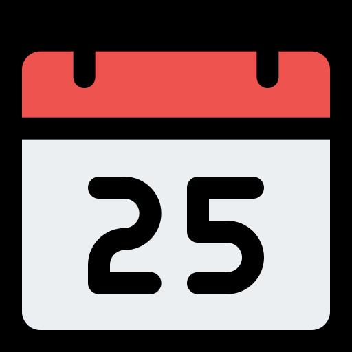 25 de diciembre  icono gratis