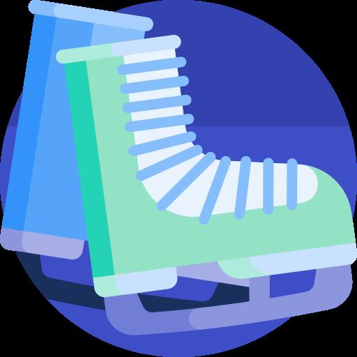 Ice skates  free icon