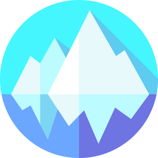 Iceberg  free icon